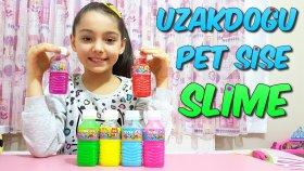 Uzakdoğu'dan Gelen Pet Şişe Slime İle Oynadık Slime Çorbası Yaptık ! !