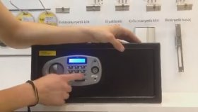 Yale Laptop Tipi Lcd Ekranlı Dijital Çelik Kasa şifre nasıl degiştirilir
