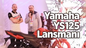 Yamaha YS125 Lansmanı | 2017 Yamaha YBR 125 | Metehan Yılmaz | Motobike İstanbul 2017