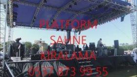Sahne Kiralama Fiyatlari Sahne Kiralama platform podyum sahne kiralama istanbul platform