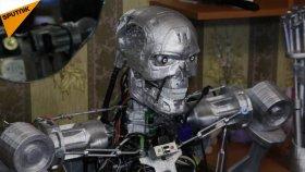 Terminatör Filmindeki Robotun 3D Yazıcı ile Kopyasını Geliştiren Rus Mühendis