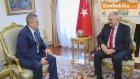 Başbakan Yıldırım , Özbekistan Başbakan Yardımcısı Rustam Azimov'u Kabül Etti