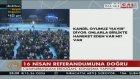 Cumhurbaşkanı Erdoğan : Teröristbaşları 16 Nisan'da 'hayır' diyor
