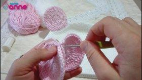 Gülen Yüz Kız Bebek Bere Modeli Yapımı , Canım Anne