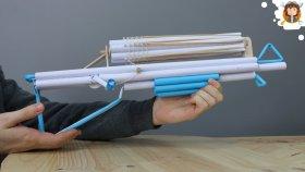 Kağıttan Lastik Fırlatan Silah Nasıl Yapılır ?