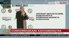 Cumhurbaşkanı Erdoğan : Milleti aldatmayın , yalan söylemeyin !
