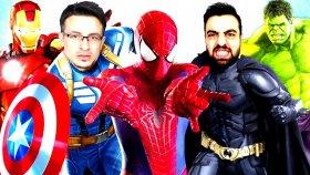 Örümcek Ümıdı Ve Süper Fato Vs Süper Kahramanlar