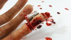 Kalem Tıraşla Parmağımı Açtım ! !