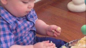 Demir'in İlk Doğum Günü Pastası