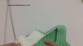 İki Renkli Kolay Bebek Yeleği Nasıl Yapılır ? ( Baştan Sona Anlatım ) - Örgü Modelleri