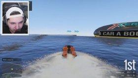 Ekstrem Suda Giden Araç Yarışı ! ! ( Gta 5 Online Komik Anlar )