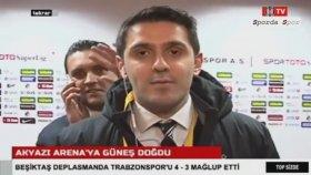 Beşiktaş Muhabiri Hakan Gündoğar'ın Beşiktaş Tv'deki Muziplikleri