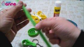 Kelebek Kukla Yapımı - Kendin Yap - DIY - Okul Öncesi Fikirler