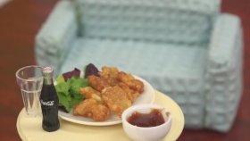 Mini Malzemelerle Tavuk Nugget Hazırlamak