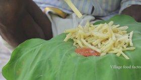 Hintli Dayı Patates Kızartması Yapıyor ! ! !