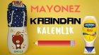 Mayonez Kabından Kalemlik Yapımı / DIY Pencil Case