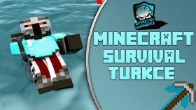 Midem Elime Geldi / Minecraft Türkçe Survival Multiplayer - Bölüm20