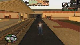 C4 - İle Gta San Andreas - Da Tren Durdurma ! ! !