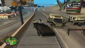 Kara Şimşek Aracını Çaldık Gta San Andreas Efsane Ekib Arkadaşım İle