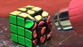 Pürmüz İle Rubik Kübü Eritmek