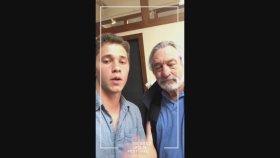 Robert De Niro Snapchat'in Köpek Filtresi Modasına Uydu !
