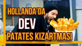 Hollanda'da Dev Patates Kızartması - Hayrettin