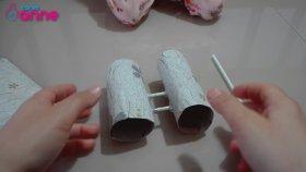 Tuvalet Kağıdı Rulosundan Dürbün Yapımı - Çocuk Etkinliği - DIY - Kendin Yap
