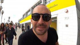 SnapChat Gözlüğünü Yerinde Test Ettim : SnapChat Ofisi - Venice Beach
