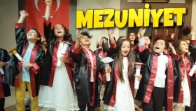 Mezuniyet Kep Atma Törenim Tiyatro Oynadık Dans Ettik Oyunlar Oynadık ! !