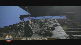 Alien Covenant / Yaratık Covenant Kamera Arkası