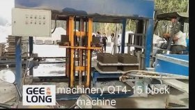 Beton Blok Makinesi , concrete Block Machine , cement Block Machine , hollow Block Making Machine Qt4 - 15