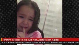 İbrahim Tatlıses'in Kızı Elif Ada'nın Atatürk İçin Ağlaması