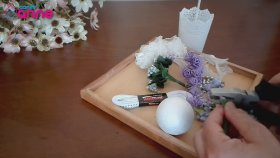 Dekoratif Top Çiçek Ağacı Yapımı - Süsleme Fikri - DIY - Kendin Yap ?