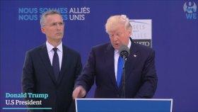 Trump'ın Aidat Ödemeyen Ülkelere Fırça Atması