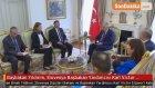 Başbakan Yıldırım , Slovenya Başbakan Yardımcısı Karl Victor Erjavec'i Kabul Etti