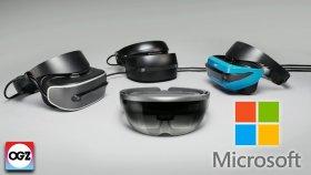 Oculus ve Vive İflas Eder Mi ? Microsoft'un Mixed Reality Başlığını Denedik !