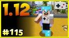 Minecraft 1.12 ve İnek Fabrikası Temellerini Attım - Minecraft Türkçe Survival - Bölüm 115
