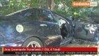 Araç Şarampole Yuvarlandı : 1 Ölü , 4 Yaralı
