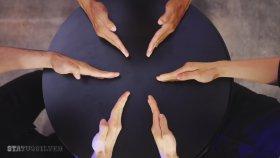 Parmaklarla Kaleydoskop Yaptılar
