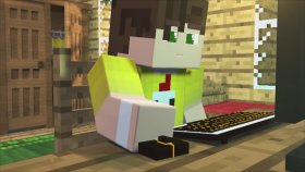Minecraft Gerçek Hayatta Oyunu - Gerçek Minecraft Filmi ! ( Minecraft Real Life Games )