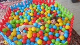 Top Havuzu - Kızım Nerede ? - Eğlenceli Çocuk Videosu - Ocean Ball Pit Pool - Funny Kids Videos