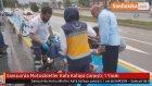 Samsun'da Motosikletler Kafa Kafaya Çarpıştı : 1 Yaralı