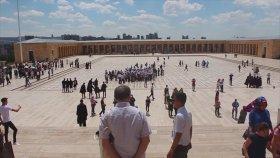 Köksal Baba'nın Anıtkabir'i Ziyareti