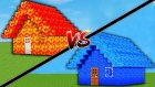 Lav Ev Vs Su Ev ! ( Minecraft )