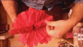 Pon Pon Süs Nasıl Yapılır Kağıt Ponpon Süs Fiyatı Doğum Günü Süsleri