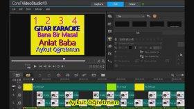 Corel Videostudio x9 Basit Fotoğraf Ekleme Track Ekleme Track Silme Aykut öğretmen