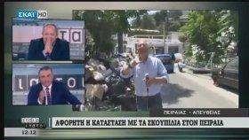 Yanından Geçen Kıza Bakakalan Yunan Muhabir