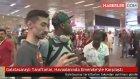 Galatasaraylı Taraftarlar , Havaalanında Emenike'yle Karşılaştı
