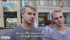 Almanlar'a ''Türkler'i Kıskanıyor musunuz ? '' Diye Sormak