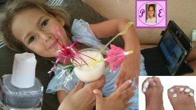 elif için dinlenme günü ) ) ) manikür pedikür ve kokteyl keyfi ) ) Eğlenceli çocuk videosu